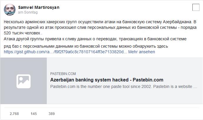 armenian hackers hacked azerbaijans banking system 02