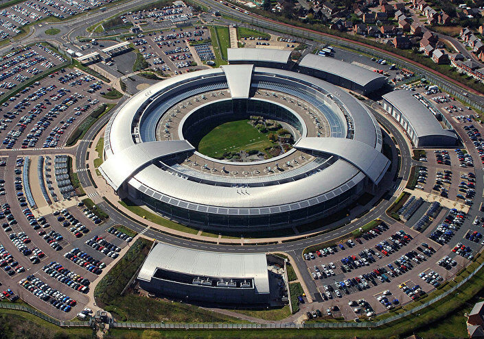 The Doughnut, the headquarters of the GCHQ